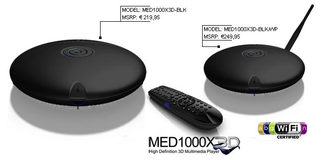 Mede8er MED1000X3D Media Player Drivers for Windows XP